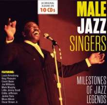Jazz Sampler: Male Jazz Singers, 10 CDs
