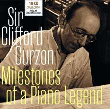 Clifford Curzon - Milestones of a Legend, 10 CDs