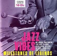 Jazz Sampler: Jazz Vibes: 19 Original Albums On 10 CDs, 10 CDs