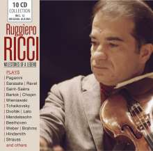 Ruggiero Ricci - Milestones of a Legend, 10 CDs