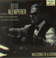 Otto Klemperer - Milestones of a Legend, 10 CDs