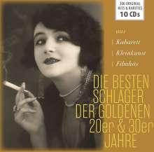 Die Besten Schlager der 20er & 30er Jahre, 10 CDs