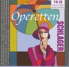 Operetten-Schlager, 10 CDs