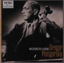 Gregor Piatigorsky - Milestones of a Legend, 10 CDs
