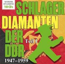 Schlager-Diamanten der DDR Teil I: 1947 - 1959, 10 CDs