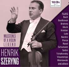 Henryk Szeryng - Milestones of a Violin Legend, 10 CDs