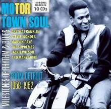 Motor Town Soul - Milestones Of Rhythm & Blues (18 Original Albums), 10 CDs