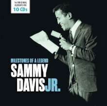 Sammy Davis Jr.: Milestones Of A Legend (16 Original Albums), 10 CDs