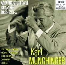 Karl Münchinger und das Stuttgarter Kammerorchester, 10 CDs