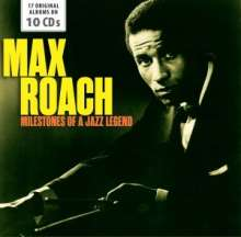 Max Roach (1924-2007): Milestones Of A Jazz Legend (17 Original Albums), 10 CDs
