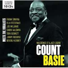 Count Basie (1904-1984): Meets The Vocalists - Milestones Of A Jazz Legend (19 Original Albums), 10 CDs