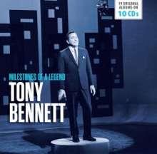 Tony Bennett (geb. 1926): Milestones Of A Legend (19 Original Albums), 10 CDs