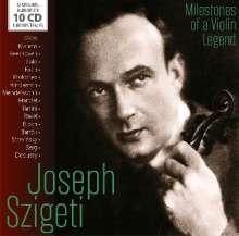 Joseph Szigeti - Milestones of a Violin Legend, 10 CDs