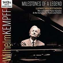 Wilhelm Kempff - Milestones of a Legend (Beethoven), 14 CDs