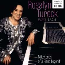 Rosalyn Tureck plays Bach - Milestones of a Legend, 10 CDs