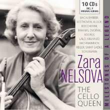 Zara Nelsova - The Cello Queen, 10 CDs
