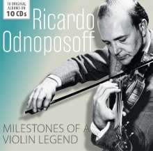 Ricardo Odnoposoff - Milestones of a Legend, 10 CDs