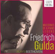 Friedrich Gulda plays Beethoven, 10 CDs