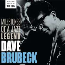 Dave Brubeck (1920-2012): Milestones Of A Jazz Legend (16 Albums On 10 CDs), 10 CDs