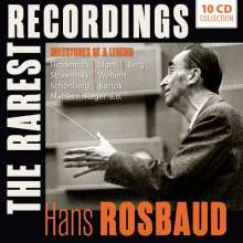 Hans Rosbaud - The Rarest Recordings, 10 CDs