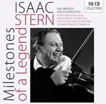 Isaac Stern - Milestones of a Legend, 10 CDs