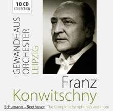Franz Konwitschny dirigiert das Gewandhausorchester Leipzig, 10 CDs