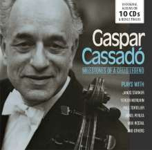 Gaspar Cassado - Milestones of a Cello Legend, 10 CDs