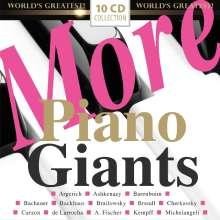 More Piano Giants, 10 CDs