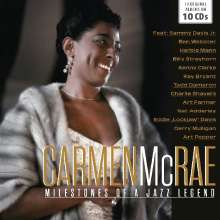 Carmen McRae (1920-1994): Original Albums (Milestones Of A Jazz Legend), 10 CDs