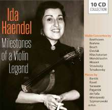 Ida Haendel - Milestones of a Violin Legend, 10 CDs