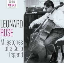 Leonard Rose - Milestones of a Legend, 10 CDs