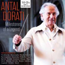 Antal Dorati - Milestones of a Legend, 10 CDs