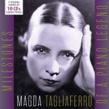 Magda Tagliaferro - Milestones of a Piano Legend, 10 CDs