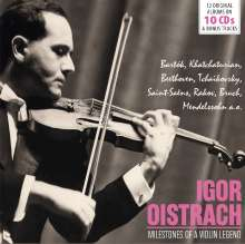 Igor Oistrach - Milestones of a Violin Legend, 10 CDs