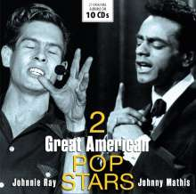 Johnnie Ray & Johnny Mathis: 2 Great American Pop Stars, 10 CDs