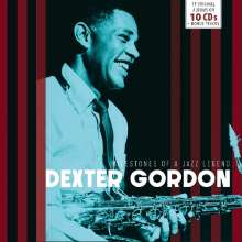 Dexter Gordon (1923-1990): Milestones Of A Jazz Legend, 10 CDs