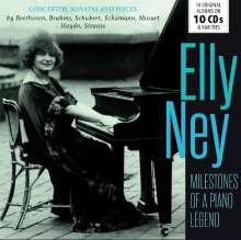 Elly Ney - Milestones of a Legend, 10 CDs