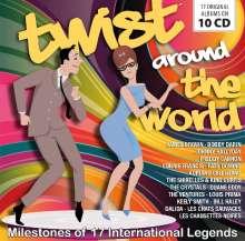 Twist Around The World: Milestones Of 17 International Legends, 10 CDs