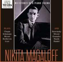 Nikita Magaloff - Milestones of a Piano Legend, 10 CDs