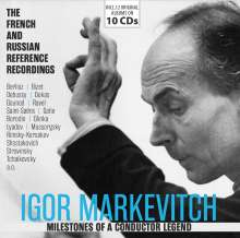Igor Markevitch - Milestones of a Conductor Legend, 10 CDs