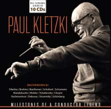 Paul Kletzki - Milestones of a Conductor Legend, 10 CDs
