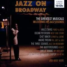 Musical: Jazz On Broadway, 10 CDs