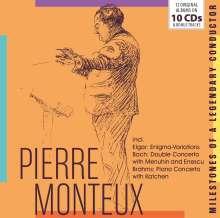 Pierre Monteux - Milestones of a Legendary Conductor, 10 CDs