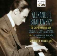 Alexander Brailowsky - Milestones of a Piano Legend, 10 CDs
