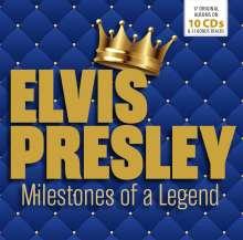 Elvis Presley (1935-1977): Milestones Of A Legend (17 Albums On 10 CDs & 31 Bonus Tracks), 10 CDs
