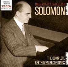 Ludwig van Beethoven (1770-1827): Solomon - The Complete Beethoven Recordings, 12 CDs