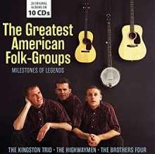 Legendary American Folk Groups (Milestones Of Legends), 10 CDs