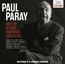 Paul Paray - Milstones of an Legendary Conductor, 10 CDs