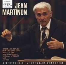 Jean Martinon - Milestones of a Legendary Conductor, 10 CDs