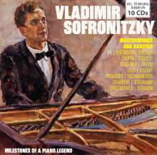 Vladimir Sofronitzky - Milestones of a Piano Legend, 10 CDs